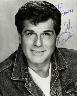 DICK GAUTIER - AUTOGRAPHED INSCRIBED PHOTOGRAPH