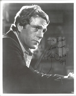RYAN O'NEAL - AUTOGRAPHED INSCRIBED PHOTOGRAPH 1979