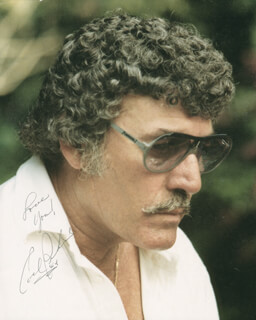 CARL LEE PERKINS - AUTOGRAPHED SIGNED PHOTOGRAPH 1984