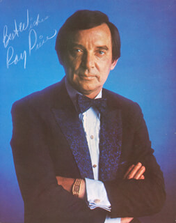 RAY PRICE - AUTOGRAPHED SIGNED PHOTOGRAPH