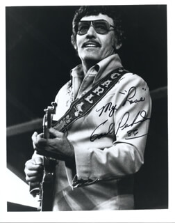 CARL LEE PERKINS - AUTOGRAPHED SIGNED PHOTOGRAPH 1986