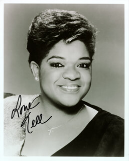 NELL CARTER - AUTOGRAPHED SIGNED PHOTOGRAPH