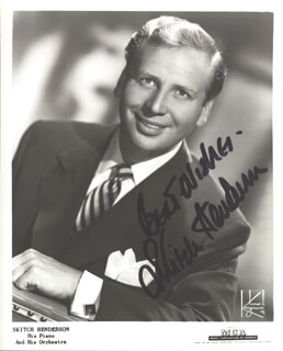 SKITCH HENDERSON - AUTOGRAPHED SIGNED PHOTOGRAPH