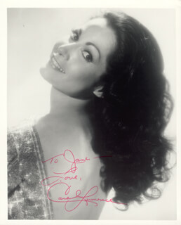 CAROL LAWRENCE - AUTOGRAPHED INSCRIBED PHOTOGRAPH