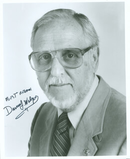 DAVID L WOLPER - AUTOGRAPHED SIGNED PHOTOGRAPH