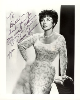 CONNIE HAINES - AUTOGRAPHED INSCRIBED PHOTOGRAPH 10/28/1982