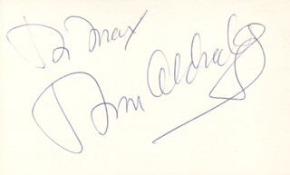 TOM ALDREDGE - INSCRIBED SIGNATURE