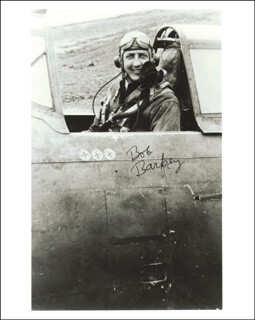 Autographs: ROBERT M. BARKEY - PHOTOGRAPH SIGNED