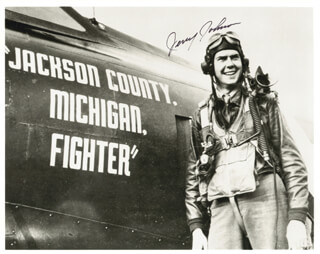 LT. GENERAL GERALD WALTER JERRY JOHNSON - AUTOGRAPHED SIGNED PHOTOGRAPH