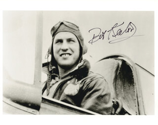 ROBERT BUSTER KEETON - AUTOGRAPHED SIGNED PHOTOGRAPH