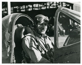 LT. COMMANDER JOE DRAPER ROBBINS - AUTOGRAPHED SIGNED PHOTOGRAPH