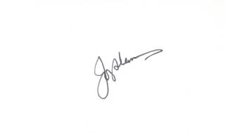 Autographs: JOEY ADAMS - SIGNATURE(S)