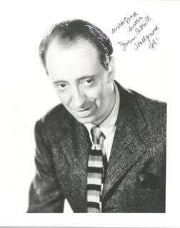Autographs: JOHN ABBOTT - PHOTOGRAPH SIGNED 1981