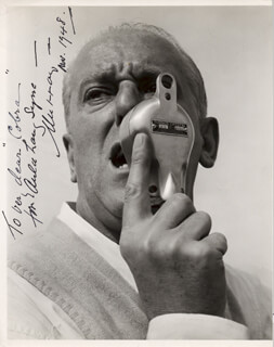 JOHN MURRAY ANDERSON - AUTOGRAPHED INSCRIBED PHOTOGRAPH 11/1948