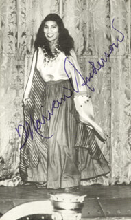 MARIAN ANDERSON - AUTOGRAPHED SIGNED PHOTOGRAPH