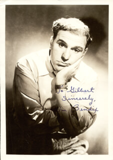 WILLIAM BENDIX - AUTOGRAPHED INSCRIBED PHOTOGRAPH