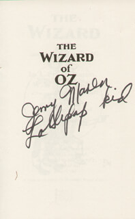 JERRY MAREN - BOOK SIGNED