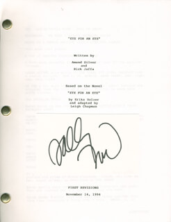SALLY FIELD - AUTOGRAPH