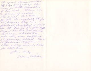 ANNE WHITNEY - AUTOGRAPH LETTER SIGNED