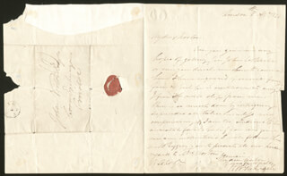 HENRY WILLIAM PICKERSGILL - AUTOGRAPH LETTER SIGNED 04/08/1830