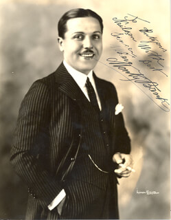 MONTAGUE MONTY BANKS - AUTOGRAPHED INSCRIBED PHOTOGRAPH