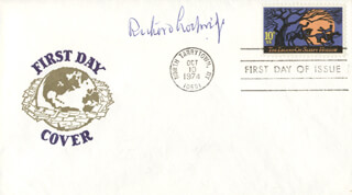 RICHARD LOCKRIDGE - FIRST DAY COVER SIGNED