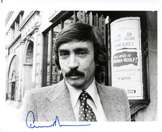 Autographs: EDWARD ALBEE - PHOTOGRAPH SIGNED