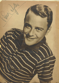 LEW AYRES - MAGAZINE PHOTOGRAPH SIGNED