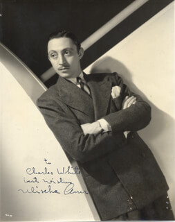 MISCHA AUER - AUTOGRAPHED INSCRIBED PHOTOGRAPH