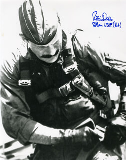 BRIGADIER GENERAL ROBIN OLDS - AUTOGRAPHED SIGNED PHOTOGRAPH