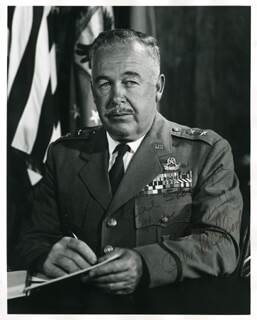 MAJOR GENERAL CARROLL W. MCCOLPIN - AUTOGRAPHED INSCRIBED PHOTOGRAPH