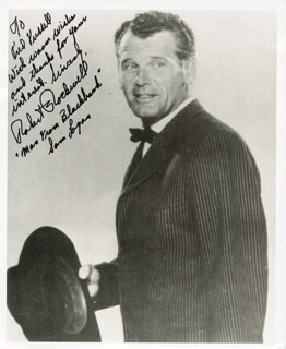 ROBERT ROCKWELL - AUTOGRAPHED INSCRIBED PHOTOGRAPH