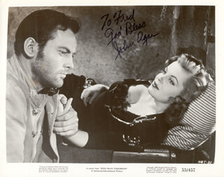 JOHN AGAR - AUTOGRAPHED INSCRIBED PHOTOGRAPH
