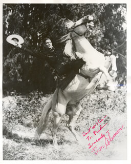 DON COLEMAN - AUTOGRAPHED INSCRIBED PHOTOGRAPH