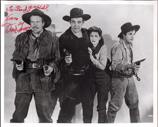 DON TERRY - AUTOGRAPHED SIGNED PHOTOGRAPH