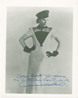 ANNABELLA - AUTOGRAPHED INSCRIBED PHOTOGRAPH