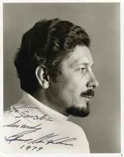 RUSSELL CHRISTOPHER - AUTOGRAPHED INSCRIBED PHOTOGRAPH 1979