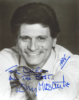 TONY MUSANTE - AUTOGRAPHED INSCRIBED PHOTOGRAPH 1995
