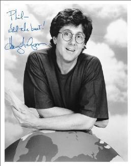 HARRY ANDERSON - AUTOGRAPHED INSCRIBED PHOTOGRAPH