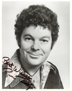 RUSS TAMBLYN - AUTOGRAPHED SIGNED PHOTOGRAPH