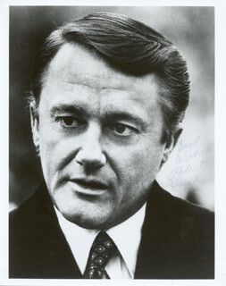 ROBERT VAUGHN - AUTOGRAPHED SIGNED PHOTOGRAPH