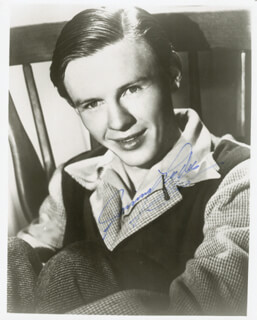 JIMMY LYDON - AUTOGRAPHED SIGNED PHOTOGRAPH