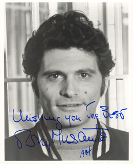 TONY MUSANTE - AUTOGRAPHED SIGNED PHOTOGRAPH 1984