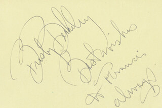 BUSBY BERKELEY - AUTOGRAPH NOTE SIGNED