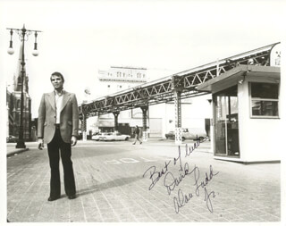 ALAN LADD JR. - AUTOGRAPHED INSCRIBED PHOTOGRAPH