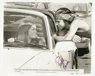 ROBBY BENSON - PRINTED PHOTOGRAPH SIGNED IN INK