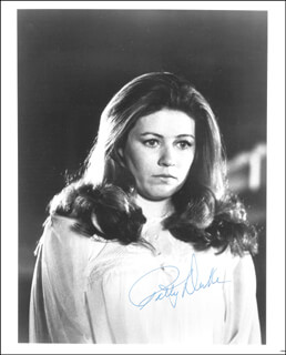 PATTY DUKE - AUTOGRAPHED SIGNED PHOTOGRAPH