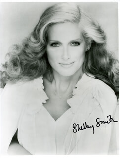 SHELLEY SMITH - AUTOGRAPHED SIGNED PHOTOGRAPH