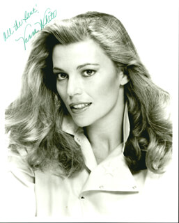 VANNA WHITE - AUTOGRAPHED SIGNED PHOTOGRAPH