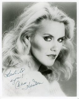CELIA WESTON - AUTOGRAPHED SIGNED PHOTOGRAPH